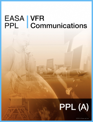 EASA PPL VFR Communications - Slate-Ed Ltd book