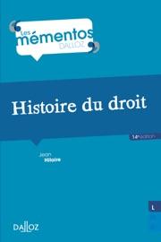 Histoire Du Droit Introduction Historique Au Droit Et Histoire Des Institutions Publiques
