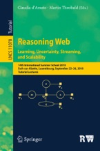 Reasoning Web. Learning, Uncertainty, Streaming, And Scalability