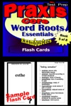 PRAXIS Core Test Prep Word Roots Review--Exambusters Flash Cards--Workbook 5 Of 8