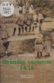 Download and Read Online Grandes vacances 14-18