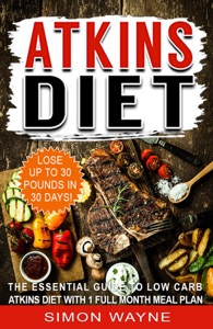 Atkins Diet Book Cover