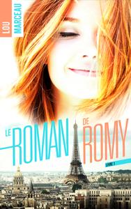 Le roman de Romy La couverture du livre martien