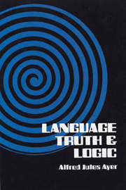 Language, Truth and Logic book