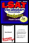 LSAT Test Prep Essential Vocabulary--Exambusters Flash Cards--Workbook 1 Of 3