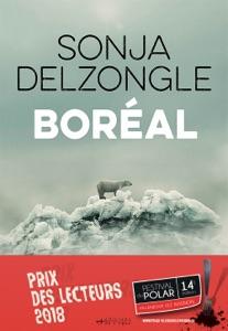 Boréal par Sonja Delzongle Couverture de livre