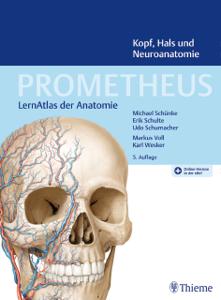 PROMETHEUS Kopf, Hals und Neuroanatomie Buch-Cover