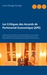 Les Critiques Des Accords De Partenariat Economique APE