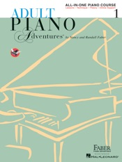 Adult Piano Adventures All-in-One Lesson Book 1
