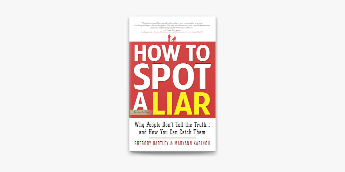 How To Spot A Liar Revised Edition On Apple Books