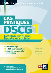 DSCG 1 Gestion juridique fiscale et sociale Cas pratiques La couverture du livre martien