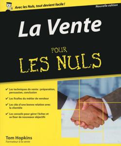 La Vente pour les Nuls, 2ème édition La couverture du livre martien