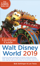 Unofficial Guide to Walt Disney World 2019 book