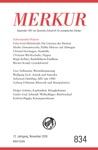 MERKUR Gegrndet 1947 Als Deutsche Zeitschrift Fr Europisches Denken - 2018-11