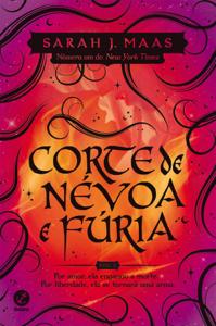 Corte de névoa e fúria - Corte de espinhos e rosas - vol. 2 Book Cover