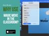 Simon Pile - Why Use Magic Move in the Classroom? artwork