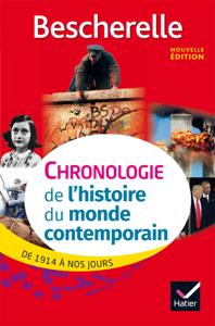 Bescherelle Chronologie de l'histoire du monde contemporain (édition 2017) La couverture du livre martien