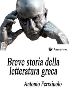 Breve storia della letteratura greca Copertina del libro