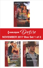 Harlequin Desire November 2017 - Box Set 1 Of 2