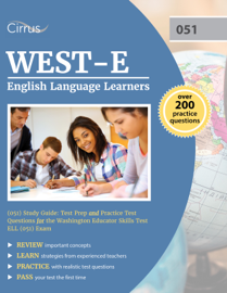 WEST-E English Language Learners (051) Study Guide book