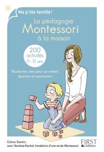 La pédagogie Montessori à la maison : 200 activités La couverture du livre martien