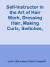 Self-Instructor In The Art Of Hair Work Dressing Hair Making Curls Switches Braids And Hair Jewelry Of Every Description