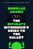 The Ultimate Hitchhiker's Guide to the Galaxy Book Cover