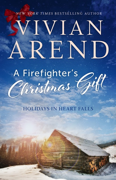 A Firefighter's Christmas Gift - Vivian Arend book cover