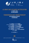 Het Burgerlijk Recht In Beweging  Le Droit Civil En Mouvement