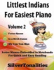 Littlest Indians For Easiest Piano Volume 2
