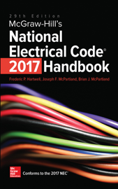 McGraw-Hill's National Electrical Code 2017 Handbook, 29th Edition book