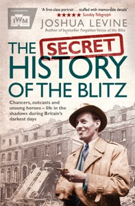 The Secret History of the Blitz Book Cover