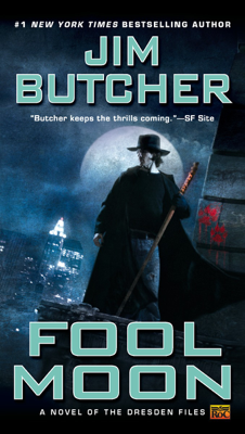 Fool Moon - Jim Butcher book