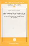 Les Mots De Labsence Ou Du Dictionnaire Des Ides Reues De Flaubert