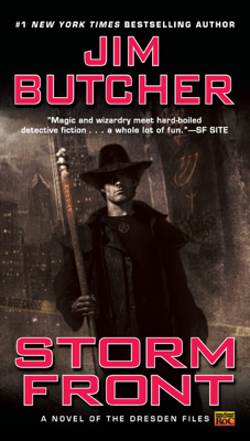Storm Front - Jim Butcher book
