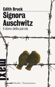 Signora Auschwitz Copertina del libro