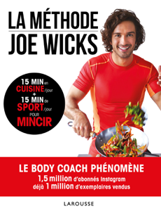 La méthode Joe Wicks La couverture du livre martien