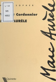 Book's Cover of Marc Aurèle