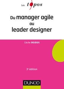 Du manager agile au leader designer - 3e éd. La couverture du livre martien