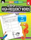 180 Days Of High-Frequency Words For Kindergarten Practice Assess Diagnose