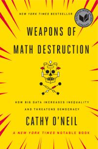 Weapons of Math Destruction Copertina del libro