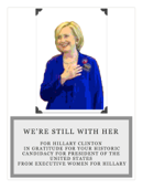 We're Still with Her