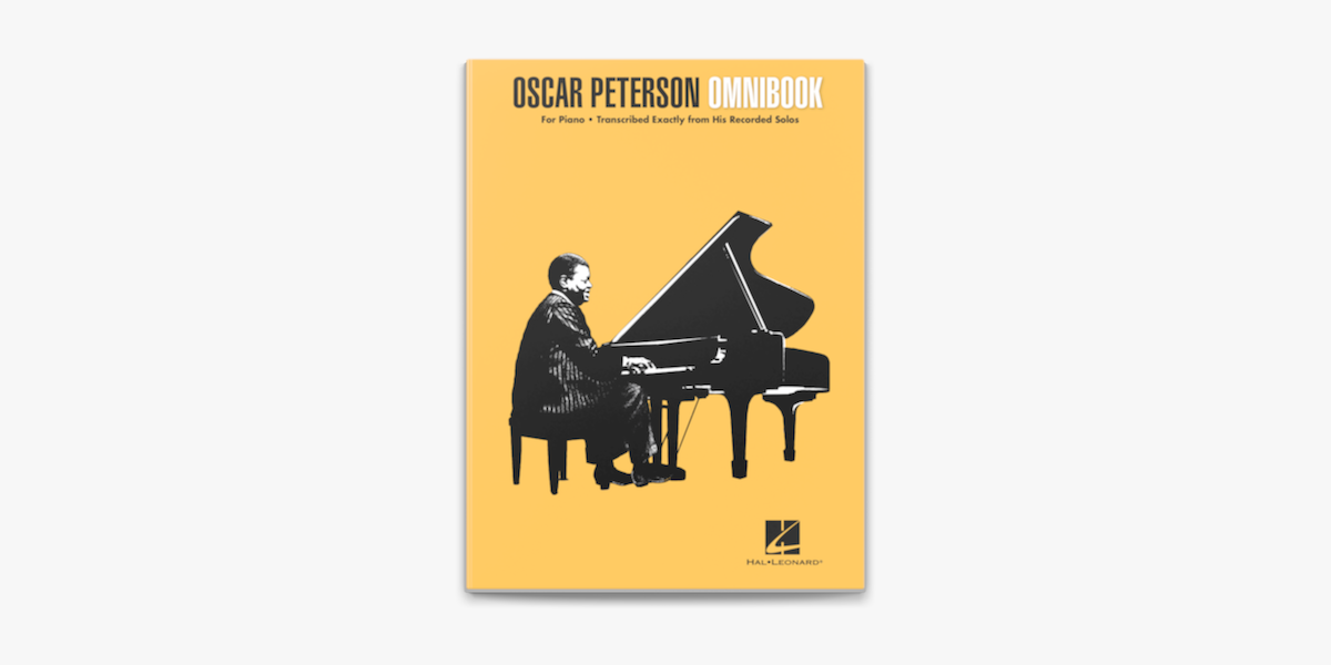 Omnibook Piano Transcriptions Oscar Peterson