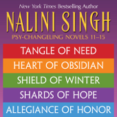Nalini Singh: The Psy-Changeling Series Books 11-15 Book Cover