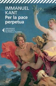 Per la pace perpetua Copertina del libro