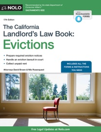 THE CALIFORNIA LANDLORDS LAW BOOK