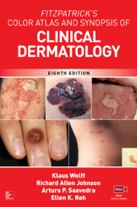 Fitzpatrick's Color Atlas and Synopsis of Clinical Dermatology, Eighth Edition Libro Cover