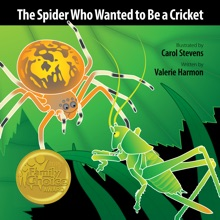 The Spider Who Wanted to Be a Cricket: an iBook about Overcoming Fears