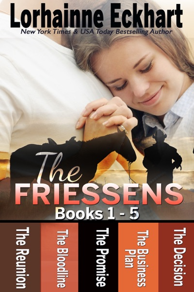 The Friessens Books 1 - 5 - Lorhainne Eckhart book cover
