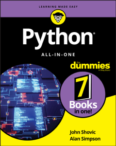 Python All-in-One For Dummies Book Cover